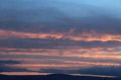 Sky stripes Royalty Free Stock Photo