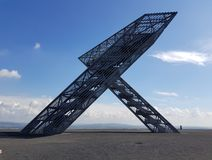 Sky, Structure, Fixed Link, Angle Stock Image