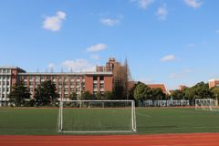 Sky, Structure, Public Space, Sport Venue royalty free stock images