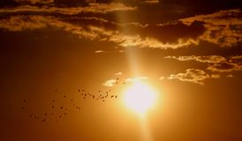 Sky, Sun, Atmosphere, Afterglow Stock Image