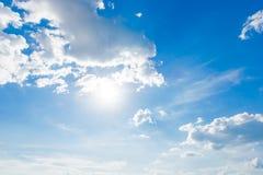 Sky and sun Stock Photo