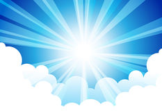 Sky Sun Cloud Royalty Free Stock Photography