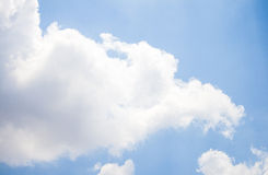 Sky. Sun light blue sky background Stock Images