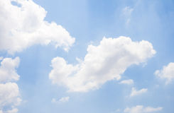 Sky. Sun light blue sky background Stock Image