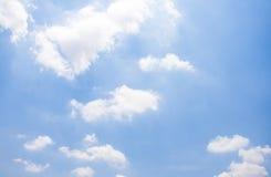 Sky. Sun light blue sky background Royalty Free Stock Photography