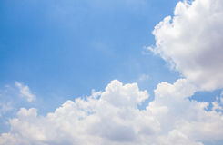 Sky. Sun light blue sky background Royalty Free Stock Images