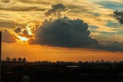 Sky sun light Royalty Free Stock Image
