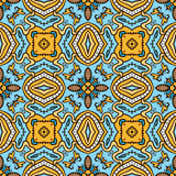 Sky-sun pattern. Colorful seamless pattern with ethnicity motif Stock Photography