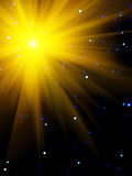 Sky  sun  star Royalty Free Stock Photo