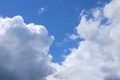 The sky on a Sunny day Stock Photo