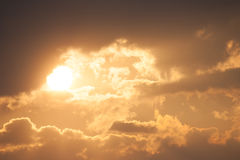 Sky with sunray Stock Photography
