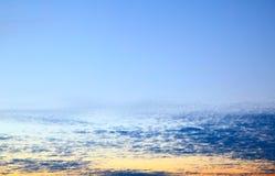 Sky at sunrise Royalty Free Stock Photo