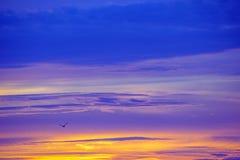 Sky during sunrise Stock Photo