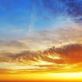 Sky sunrise only Stock Photos