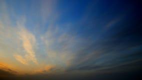 The sky before sunrise Royalty Free Stock Image