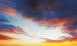 Sky at sunrise Stock Photo