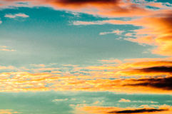 Sky sunrise colors background Royalty Free Stock Photos