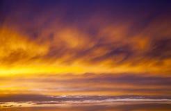 Sky during sunrise Royalty Free Stock Image