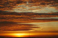 The sky at sunrise Royalty Free Stock Images