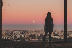 Sky, Sunrise, Sunset, City Royalty Free Stock Photography