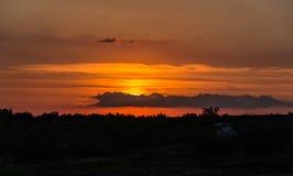Sky sunrise or sunset Stock Image