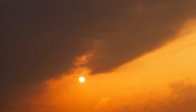 The sky, sunset Royalty Free Stock Photos