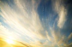 Sky on sunset Stock Photo