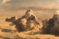 Sky at sunset Stock Photos