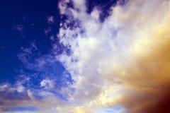 Sky (sunset) Stock Image
