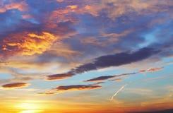 Only sky sunset / sunrise Stock Photos