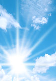 Sky and Sunshine Royalty Free Stock Images