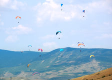 Free Sky Surfing Royalty Free Stock Image - 12388406
