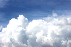 Sky. Taste of summer sunlight clouds Stock Image