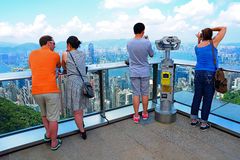 The sky terrace 428 peak, hong kong Royalty Free Stock Photos