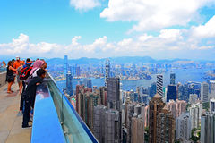 The sky terrace 428 peak, hong kong Royalty Free Stock Image