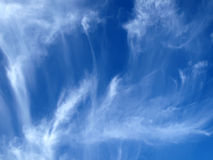 Sky texture Stock Images