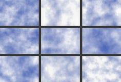 Sky texture vector illustration