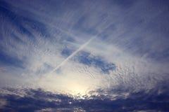 Sky texture cloud Stock Images