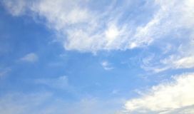 SKY. Of today Royalty Free Stock Photo
