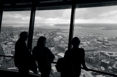 Sky Tower - Auckland New Zealand NZ Royalty Free Stock Photo