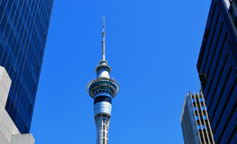 Sky Tower in Auckland New Zealand Stock Images