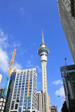 Sky tower in Auckland Royalty Free Stock Photos