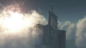 Sky tower Royalty Free Stock Images