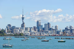 Sky tower in New Zealand royalty free stock photos