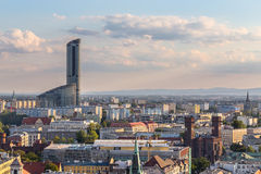 Sky Tower Wroc�aw Royalty Free Stock Image
