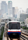 Sky train in Bangkok. Thailand Stock Images