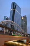 Bulding Chong Nonsi. Sky Train Chong Nonsi Satation Royalty Free Stock Photo