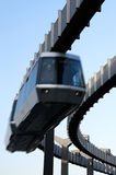 Sky Train In Motion Royalty Free Stock Photos