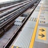 Sky train railroad track Stock Photography