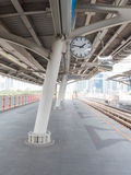 Sky train station Royalty Free Stock Images